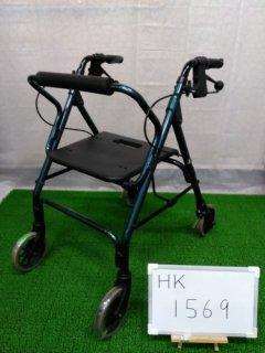 【中古歩行器】【Cランク】星医療酸器 トラベラーN-4600 (HK-1569)