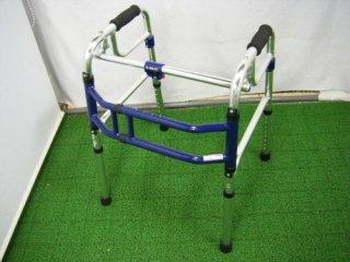 【中古歩行器】《Dランク》 ユーバ産業 スライドフィットHタイプH-0188 (HK-2158)