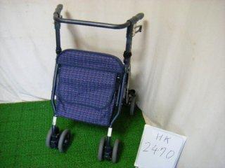 【中古歩行器】《Bランク》島製作所  シンフォニーSP(青) (HK-2470)