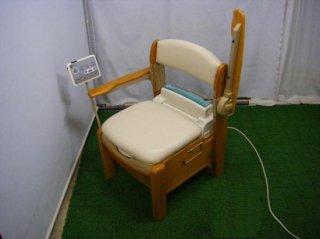 リッチェル 木製ポータブルトイレ きらくSJ型  (PTRI105)