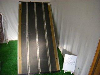 【中古 スロープ】デクパック スロープ  シニア 1.65m(グレー色)(OT-K980107)