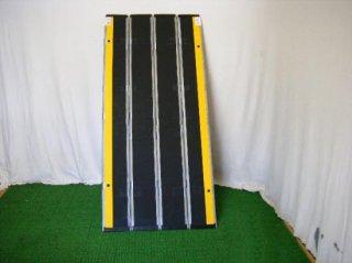 【中古】デクパック スロープ シニア1.65m(グレー)  (OTDC104-GR)