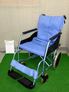 【中古車椅子】《Aランク》松永製作所 介助式車椅子 REM-8 (WC-K610571)