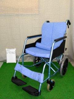 【中古車椅子】《Aランク》松永製作所 介助式車椅子 REM-8 (WC-K910360)