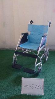 【中古車椅子】《Sランク品》松永製作所 介助式車椅子 USL-2B  (WC-5738)