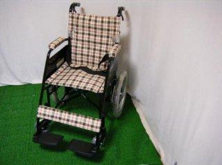 カワムラサイクル 介助式車椅子 KL16-40B (WCK125)