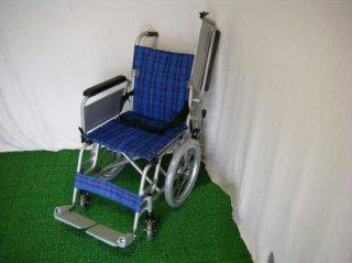 カワムラサイクル 介助式車椅子 KAK16-40 こまわりくん(青) (WCK114-BL)
