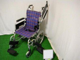 カワムラサイクル 介助式車椅子 KA816L-38B (WCK132)