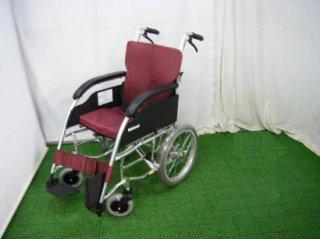 パナソニック 介助式車椅子 介助式ライク VA1006220(38幅)(WCPA105)