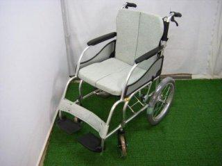 松永製作所 介助式車椅子 MW-SL2(背張付) (WCMA111)