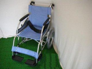 松永製作所 介助式車椅子 MW-SL21B 超軽量基本タイプ(WCMA128)