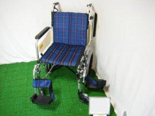【中古車椅子】ミキ 介助式車椅子 ニューウィング MWSC-16   (WCMI106)