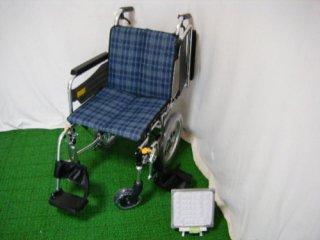 【中古車椅子】ミキ 介助式車椅子 SKT-2 (WCMI117)