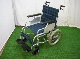 【中古車椅子】日進医療器 介助式車椅子 スリーウェイNA-M3(38幅) (WCNS114)