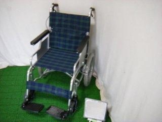 【中古車椅子】日進医療器 介助式車椅子 スリーウェイNA-M3(WCNS118)