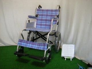 【中古車椅子】ミキ 介助式車椅子 MC-43KSK(WCMI133)