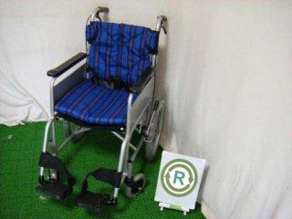 【中古車椅子】《Aランク品》カワムラサイクル 介助式車椅子 KATN16-S (WCK147-A)