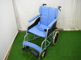 【中古車椅子】《Aランク品》松永製作所 介助式車椅子 REM-8 (WCMA114-A)