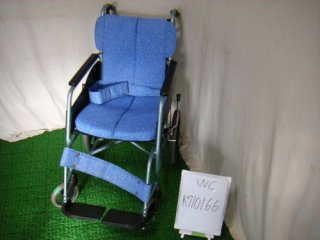 【中古車椅子】《Bランク品》松永製作所 介助式車椅子 REM-8(38幅)(WC-K710166)