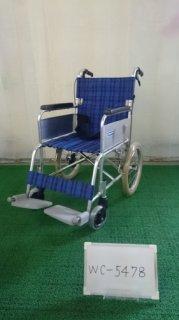 【中古車椅子】《Bランク品》カワムラサイクル 介助式車椅子 KA302SB-40 (WC-5478)