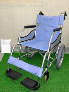 【中古車椅子】《Aランク》松永製作所 介助式車椅子 MW-SL2 (WC-K910049)