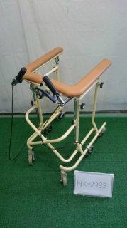 【中古歩行器】《Aランク》松永製作所  6輪歩行器ホップステップSM-40 (HK-2383)
