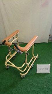 【中古歩行器】《Aランク》松永製作所  6輪歩行器ホップステップ SM-40S (HK-2384)
