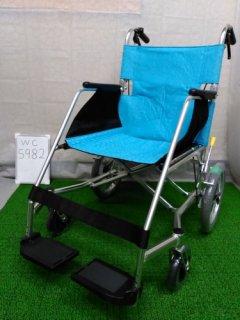 【中古車椅子】《Sランク品》松永製作所 介助式車椅子 USL-2B  (WC-5982)