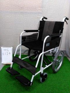 【中古車椅子】《Aランク品》ミキ 介助式車椅子 エムワンシリーズ MPCN-46JD (WC-6124)