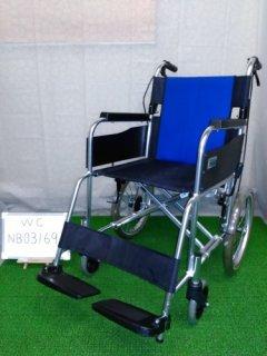 【中古車椅子】《Aランク》ミキ 介助式車椅子 BAL-2 (WC-NB03169)