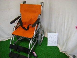 【中古車椅子】《Sランク》カワムラサイクル 介助式車椅子 AYL16-40(WC-6016)