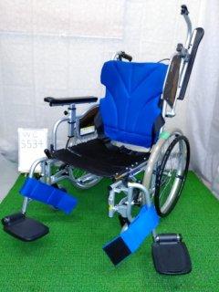 【中古車椅子】《Bランク》カワムラサイクル 自走式車椅子 KZ20-40 (WC-5534)
