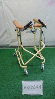 【中古歩行器】《Aランク》松永製作所  6輪歩行器ホップステップSM-40 (HK-2844)