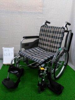 【中古車椅子】《Aランク品》ミキ 自走式車椅子  SKT-4LO(WC-6087)