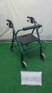 【中古歩行器】《Aランク》星医療酸器 トラベラーN-4600 (HK-2860)