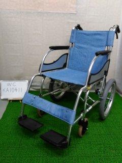 【中古車椅子】《Bランク》松永製作所 介助式車椅子 MW-SL2 (WC-KA10411)