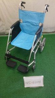 【中古車椅子】《Aランク品》松永製作所 介助式車椅子 USL-2B  (WC-6204)