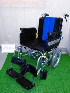 【中古車椅子】《Aランク品》ミキ 介助式車椅子 ラクーネ3 LK-3 (WC-NE04294)