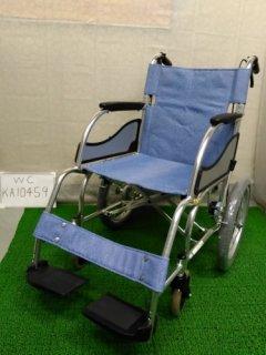 【中古車椅子】《Aランク》松永製作所 介助式車椅子 MW-SL2 (WC-KA10459)