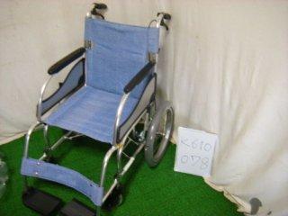 【中古車椅子】《Aランク》松永製作所 介助式車椅子 MW-SL2 (WC-K810078)