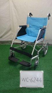 【中古車椅子】《Aランク》松永製作所 介助式車椅子 USL-2B  (WC-6244)