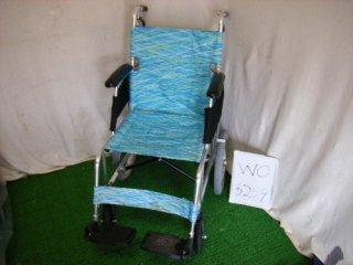 【中古車椅子】《Bランク》日進医療器 軽量・介助式車椅子 NAH-L7 (WC-6259)