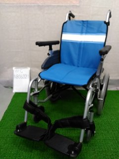 【中古車椅子】《Aランク》日進医療器 介助式車椅子 NA-3DX(介助) (WC-NB06021)