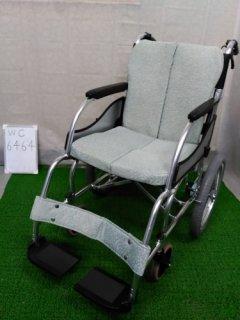 【中古車椅子】《Bランク》松永製作所 介助式車椅子 MW-SL2 (WC-6464)