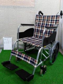 【中古車椅子】《Bランク品》松永製作所 介助式車椅子 AR-301(WC-6507)