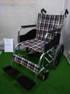 【中古車椅子】《Bランク》松永製作所 介助式車椅子 AR-300 (WC-6606)