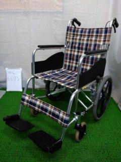 【中古車椅子】《Aランク》松永製作所 介助式車椅子 AR-300 (WC-6605)