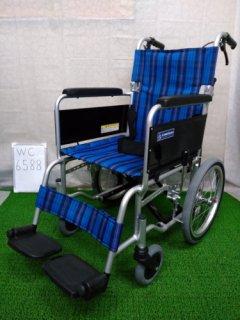 【中古車椅子】《Aランク》カワムラサイクル 介助式車椅子 KA402SB(WC-6588)