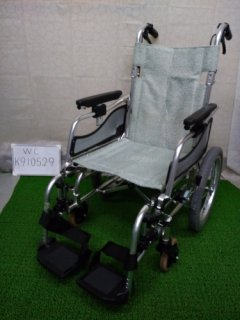 【中古車椅子】《Bランク》松永製作所 介助式車椅子 MW-SL6(WC-K910529)