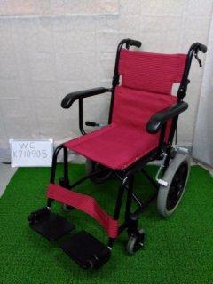 【中古車椅子】《Aランク》日進医療器 介助式車椅子 TH-2SB (WC-K710905)